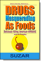 Drugs Masquerading As Foods, Book Cover