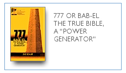 "777 Or Bab-El The True Bible, ""Power Generator"" $9.99"
