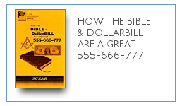 How Bible & DollarBill Are a Great 555-666-777 $9.99