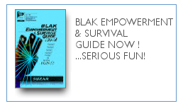 Blak Empowerment & Survival Guide NOW! ...Serious FUN! $9.99